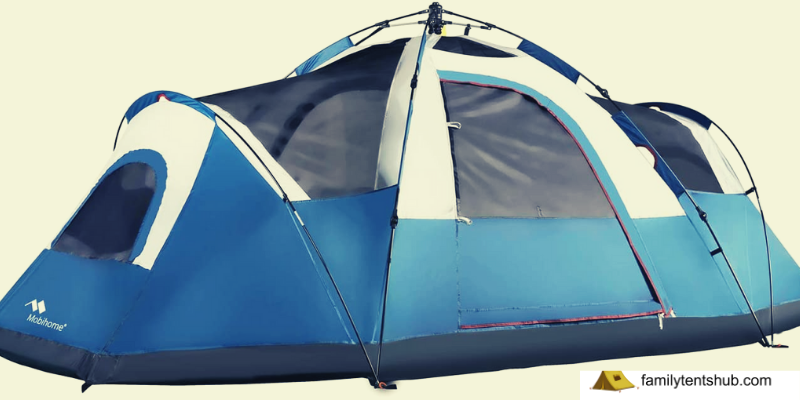Dome Tents Outdoor, with Water-Resistant Rainfly and Mesh Roofs