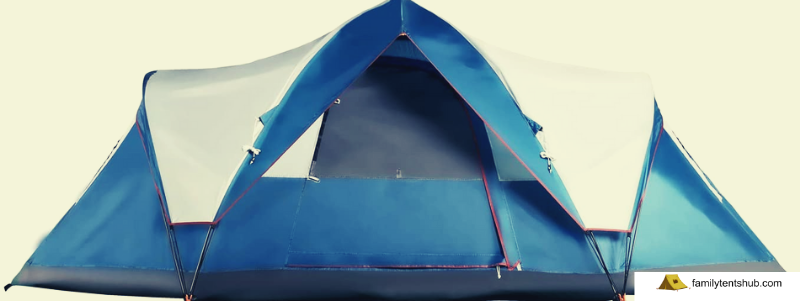 Mobihome 6 Person Tent Family Camping Quick Setup