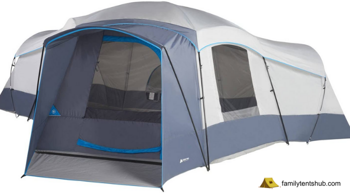 Ozark Trail 16-Person 23.5 x 18.5 Cabin Camping Tent