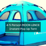 4-5 Person MOON LENCE Instant Pop Up Tent