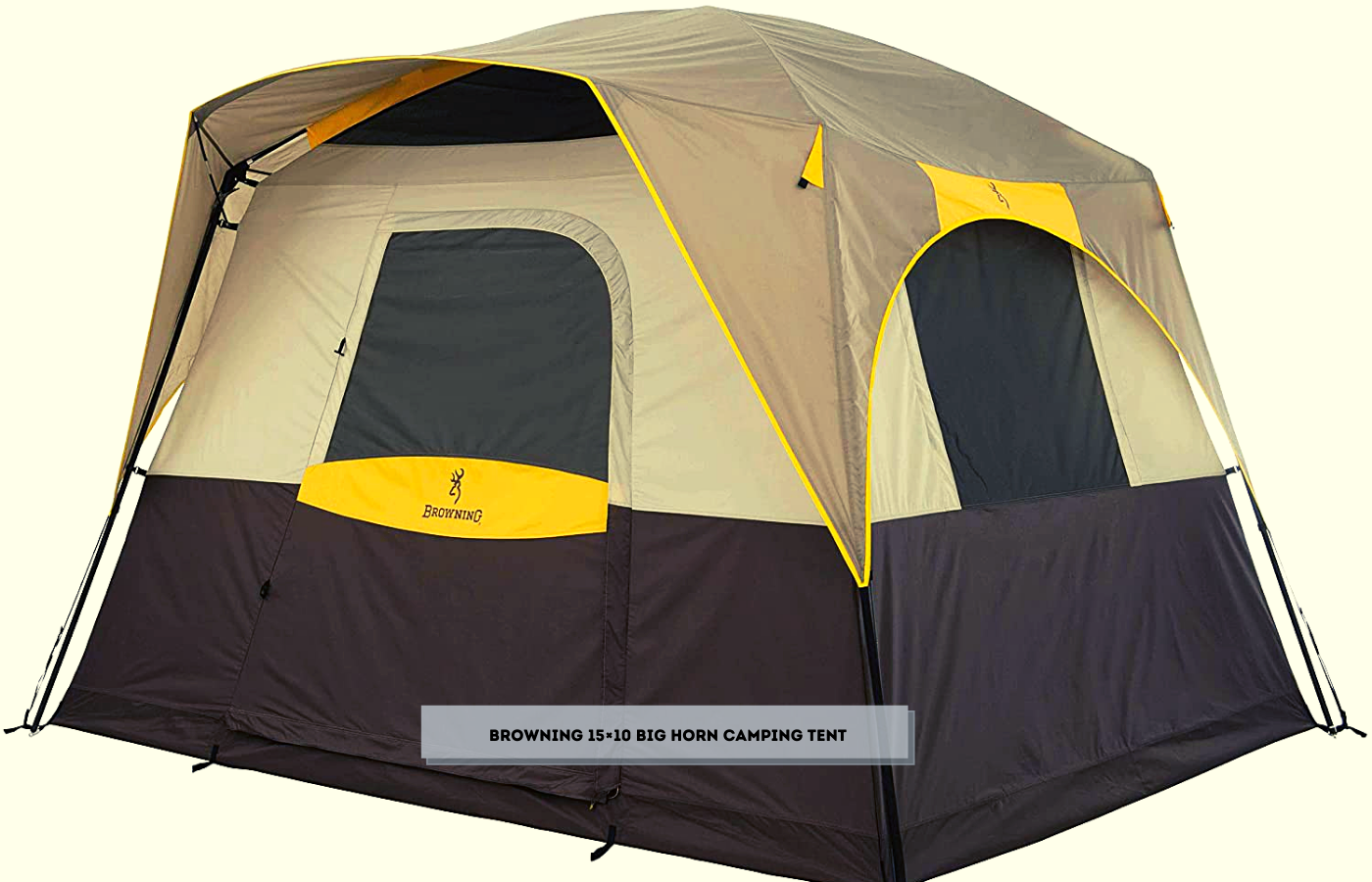 Browning 15×10 Big Horn Camping Tent