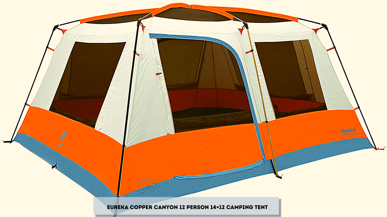 Eureka Copper Canyon 12 Person 14×12 Camping Tent