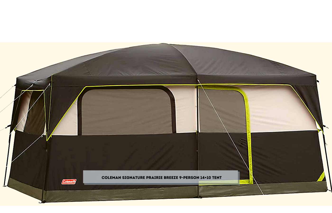 Coleman Signature Prairie Breeze 9-Person 14×10 Tent