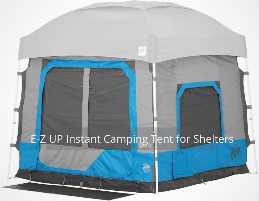 E-Z UP Instant Camping Tent for Shelters