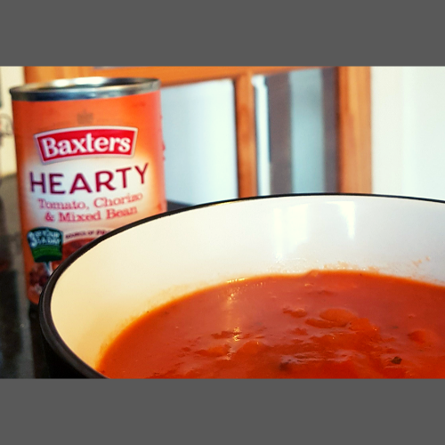 Hearty canned soups