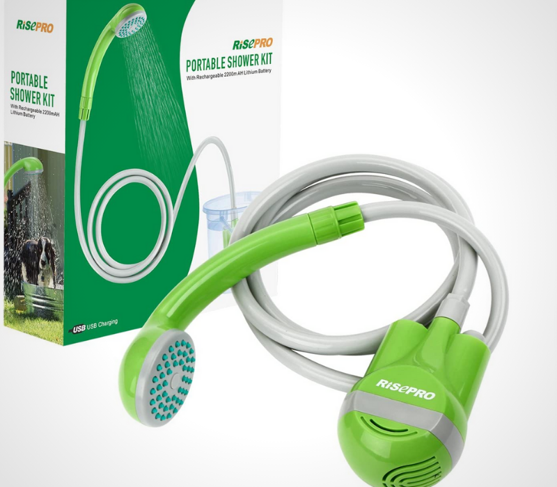 RISEPRO Portable Camping Shower