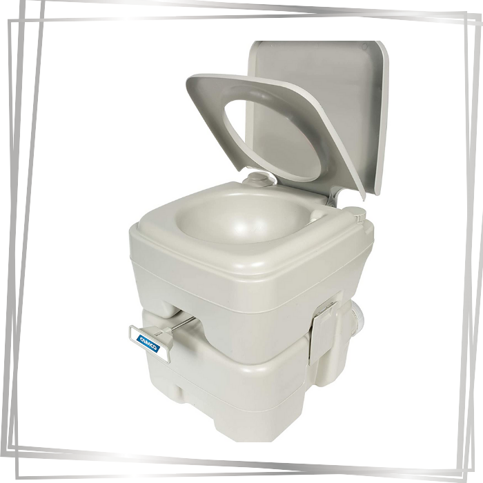 Camco 41541 Portable Travel Toilet-Designed for Camping