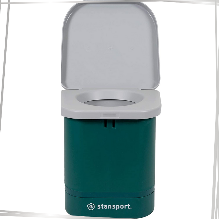 Stansport Green Camp Toilet